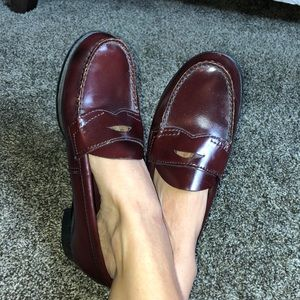 VINTAGE BASS WEEJUNS PENNY LOAFERS 7.5M
